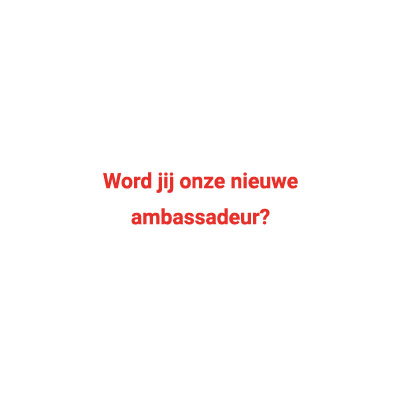 Ambassadeur Team Agro NL worden?