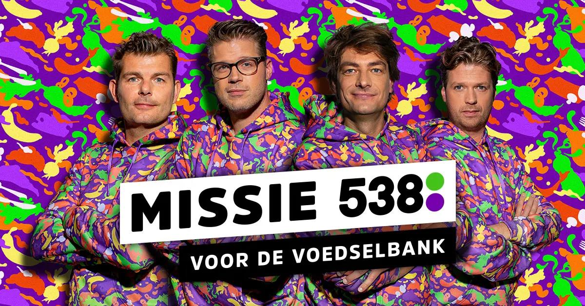 Missie-538 voor de voedselbank Team agro NL donatie