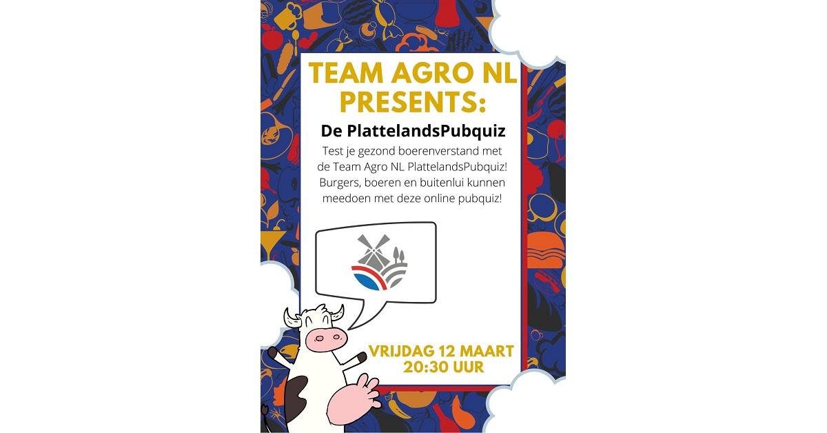 PlattelandsPubquiz Team Agro NL